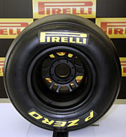 Pirelli F1 Tyre Supplier