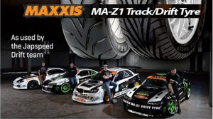 Maxxis tyres 'Drifts' to Success