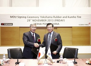Yokohama and Kumho Sign R&D Collaboration Agreement