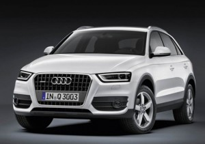 Audi Q3 Gets a Mid-life Makeover for 2015