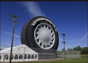 World's Biggest Tyre, Uniroyal Celebrating 50th Anniversary